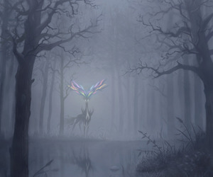 forest, pokemon, and tree image
