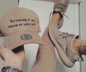 cap, fashion, and quotes image