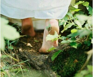 feet, simple, and life image