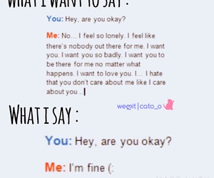 cry, lonely, and me image