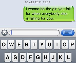 girl, love, and text image