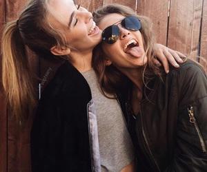 best friends, friendship, and friends image
