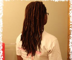 dreadlocks, natural hair, and locs image