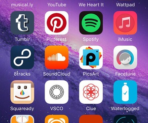 home, iphone, and apps image