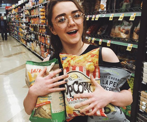 maisie williams, game of thrones, and arya stark image