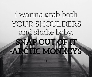 arctic monkeys, easel, and snap out of it image