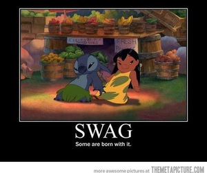 swag, stitch, and disney image