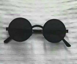 black, glasses, and grunge image