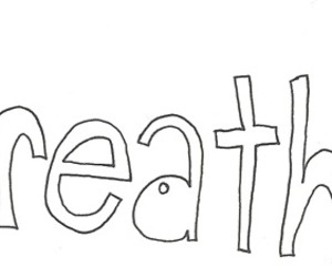 banner, breathe, and text image
