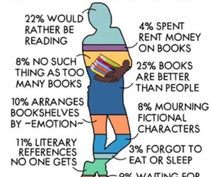 book, bookworm, and reading image