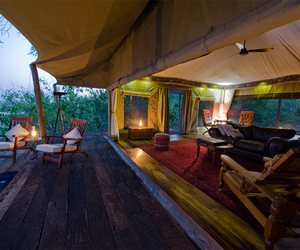 africa, tent, and awesome image