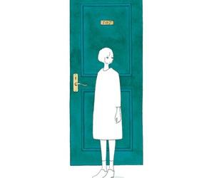 aesthetic, door, and kawaii image
