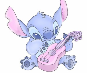 guitar, tumblr, and stich image