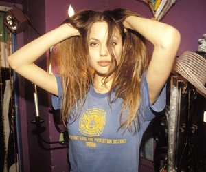 Angelina Jolie, grunge, and 90s image