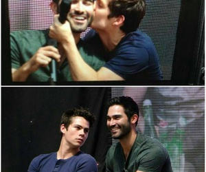 dylan o'brien, sterek, and teen wolf image
