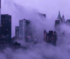 city, purple, and tumblr image