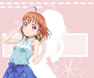 anime, aqours, and chika takami image