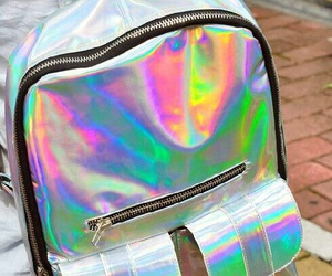 holographic, backpack, and bag image