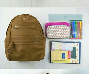 backpack, notebook, and study image