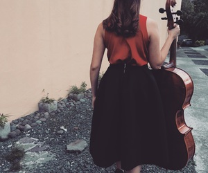background, black, and cello image