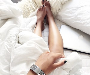 girl, white, and legs image