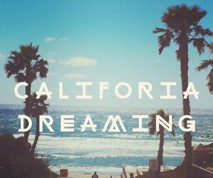 california, beach, and summer image