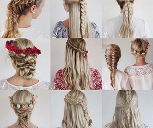 hairstyle, clothing, and make-up image