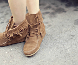 fashion, jeans, and moccasins image