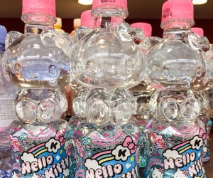 hello kitty, water, and aesthetic image