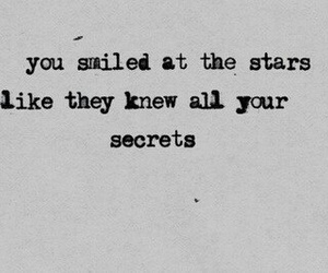 quotes, stars, and secret image
