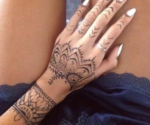 tattoo, henna, and nails image