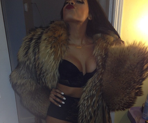 sexy, fur, and luxury image