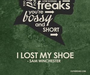 supernatural, sam winchester, and quotes image