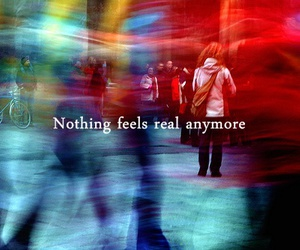 quote, nothing, and real image