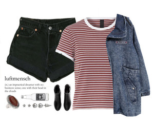 casual, simple, and stripes image
