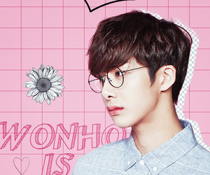 wallpaper, hyungwon, and monsta x image