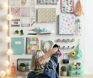 desk, goals, and room image