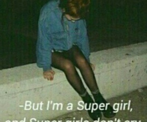 super girls don't cry! and be strong image