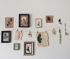 flowers, aesthetic, and wall image