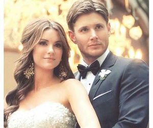 Jensen Ackles, supernatural, and wedding image