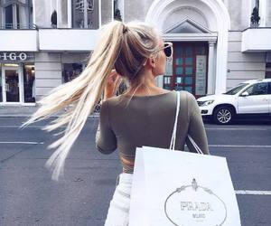girl, fashion, and Prada image