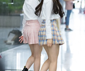 arin, jine, and oh my girl image