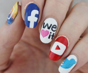 app, facebook, and we heart it image