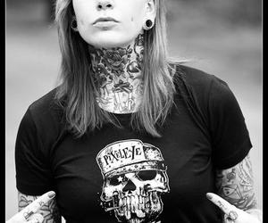 tattoo girl, Tattoos, and inked girl image