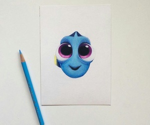 dory, art, and draw image