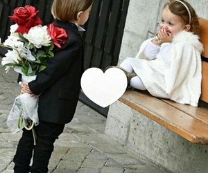 love, cute, and child image