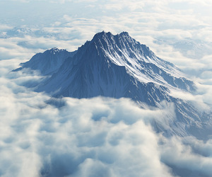 mountain and mount olympus image
