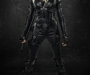 arrow, Black Canary, and katie cassidy image