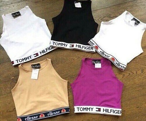 fashion, tommy hilfiger, and t-shirt image