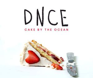 dnce and cake by the ocean image